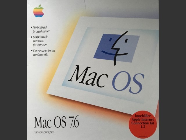 Mac OS 7.6 (Swedish) + AICK v1.2 (1997)