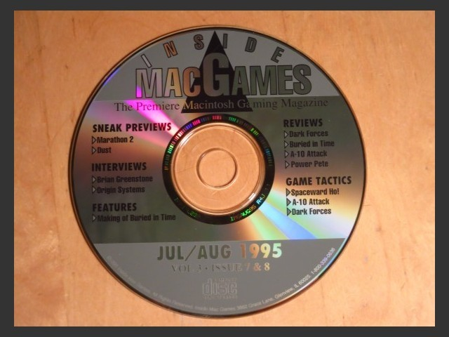 Inside Mac Games CD July/August 1995 (1995)