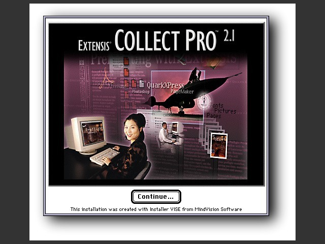 Extensis Collect Pro 2.1 (1998)
