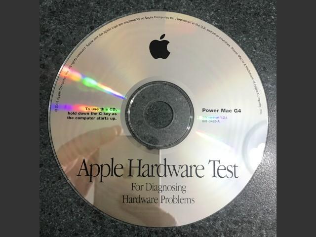 691-3462-A,,Apple Hardware Test v1.2.4. Power Mac G4 2002 (CD) (2002)
