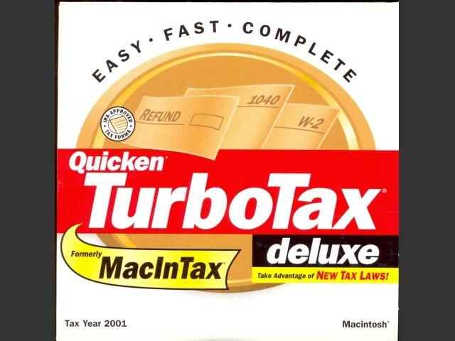 TurboTax 2001 (2002)