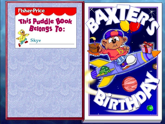 Puddle Books: Baxter's Birthday (1998)