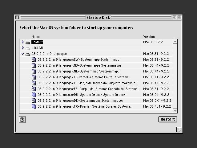 9 system folders