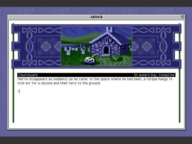 Color screenshot on System 8.6