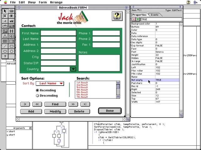 VIP-C - Interface builder