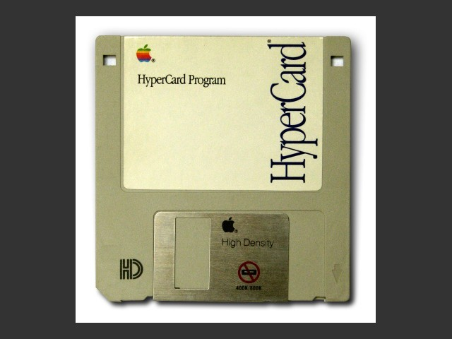 HyperCard 2.1 Player (Magic Edition) floppy disk