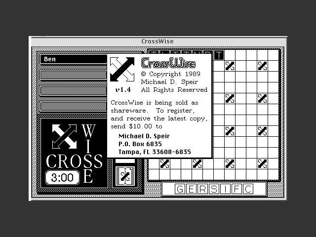CrossWise (1989)