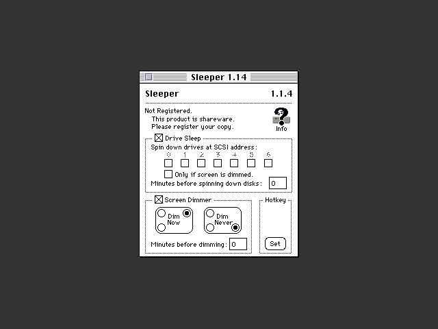 Sleeper 1.x (1995)