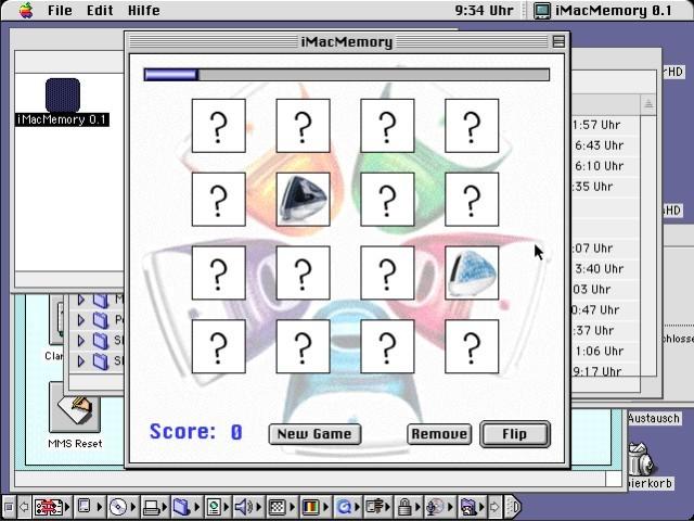 iMac Memory (2001)