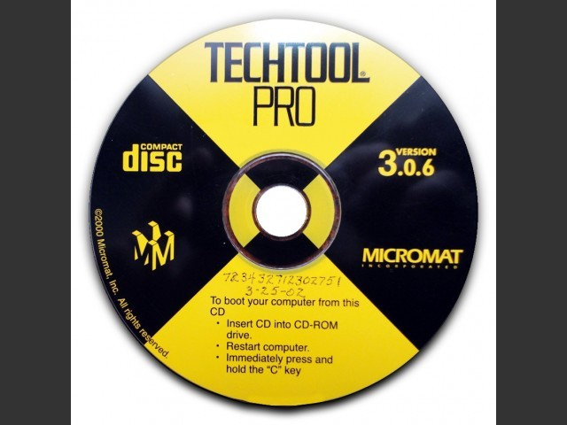 TechTool Pro 3.0.6 (2002)