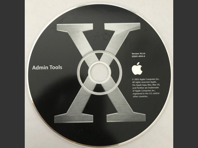 Admin tools for mac os