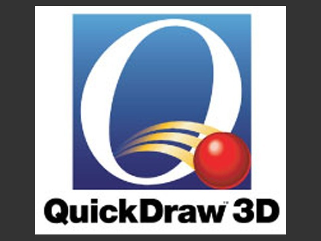 QuickDraw 3D v1.5.4 (1998)