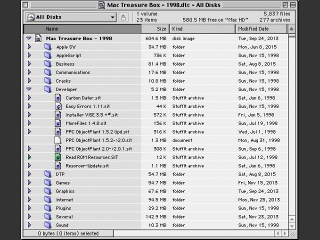 Mac Treasure Box - 1998 - Apps, utilities & games (1998)