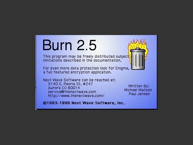 Burn 2.5 (1998)