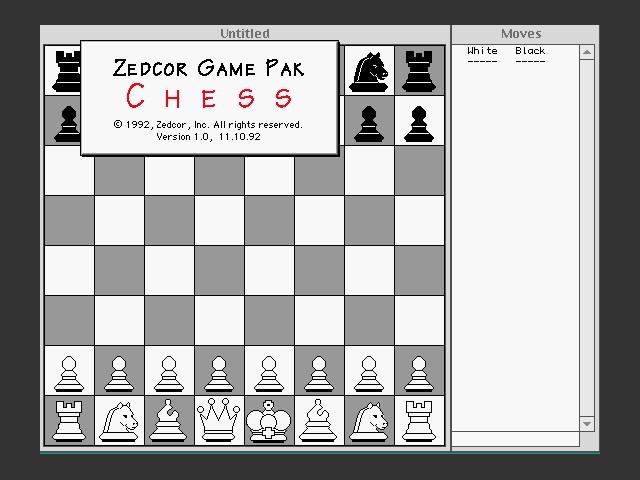 Chess (Zedcor) (1992)