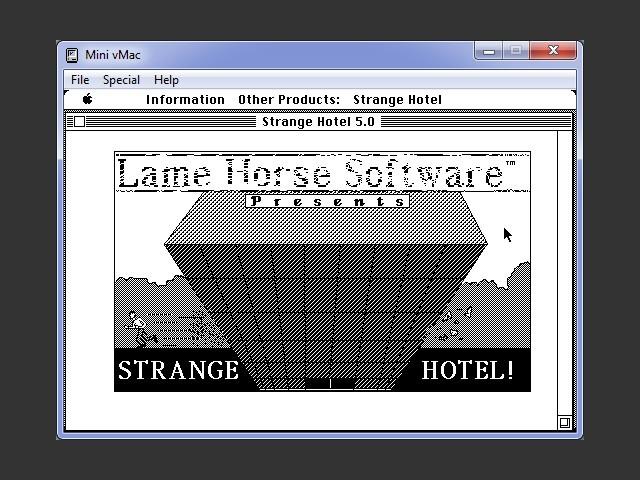 Strange Hotel (1987)