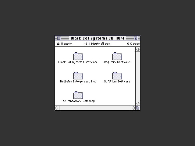 Black Cat Systems CD-ROM (0)