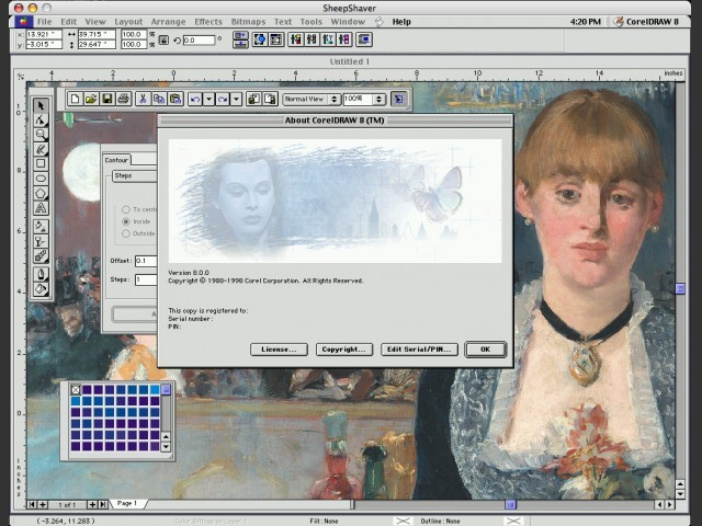 Corel Graphics 8 (1998)