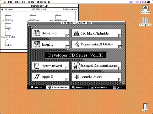 Apple Developer CD Series Volume III: A Disc Called Wanda (1990)