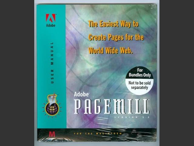 Adobe PageMill 1.0 (1995)