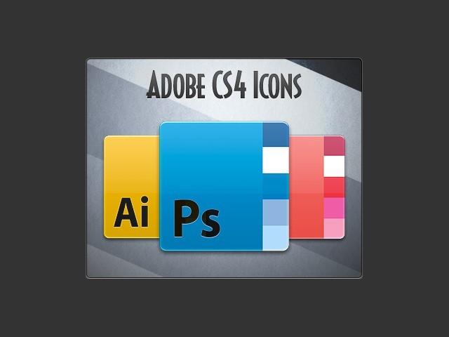 Adobe CS4 Icon Replacement Set (2008)
