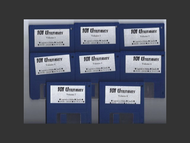 101 Utilitaires Macintosh pour Systèmes 7 et 6 (1991)