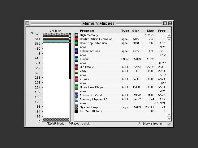 Memory Mapper 1.5 (1998)