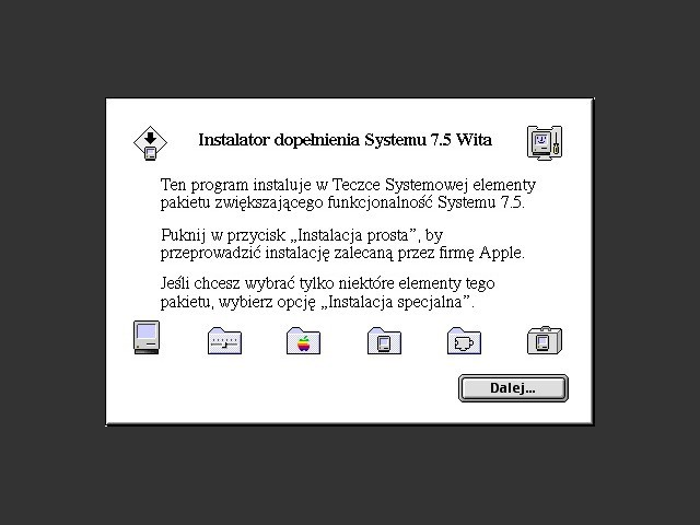 Mac OS 7.5.1 Updater (PL) (1995)