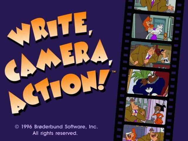Write, Camera, Action! (1996)