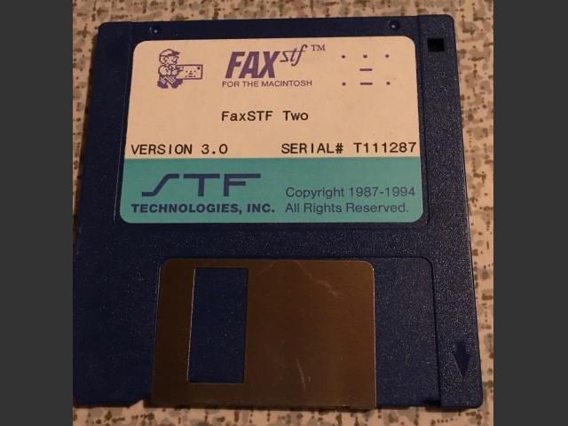 FaxSTF™ Two Version 3.0 (1994)