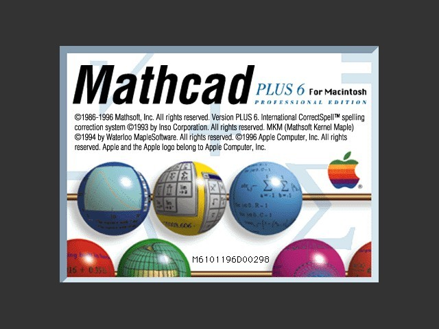 Mathcad Plus 6.0 (1996)