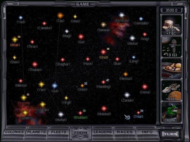 Master of Orion II: Battle at Antares (1997)