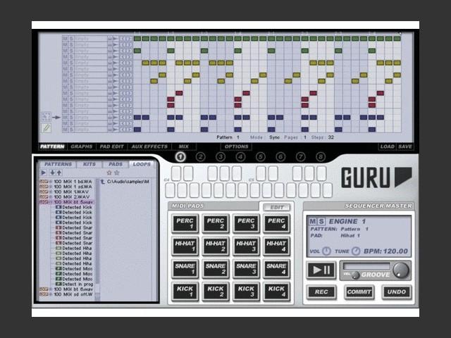 FXpansion GURU VSTi OS X PPC v 1.5.12 (2006)