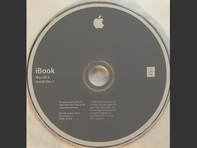Mac OS X 10.2.1 & S1-9.2.2 (Swedish) iBook (Late 2002) (2002)