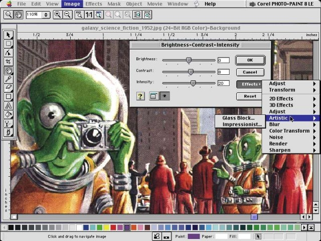 Corel Graphics 8 LE (2000)