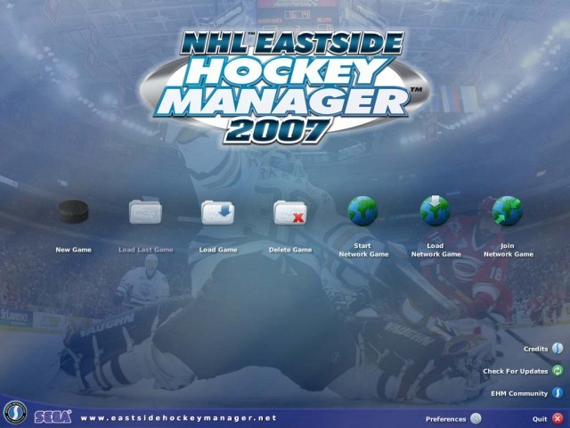 NHL Eastside Hockey Manager 2007 (2006)