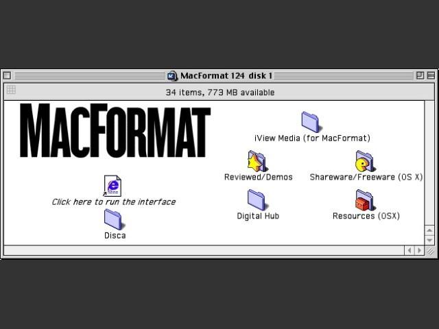 MacFormat 123 CD 1/2
