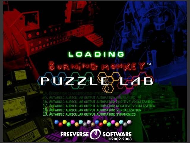 Burning Monkey Puzzle Lab (2000)
