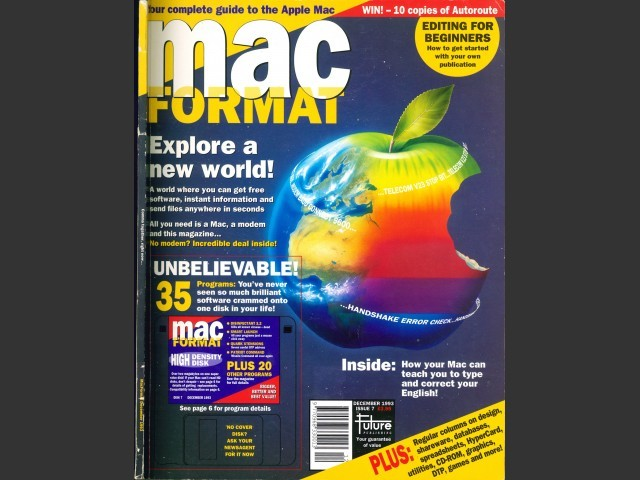 Mac Format 07 (Dec. 1993) (1993)