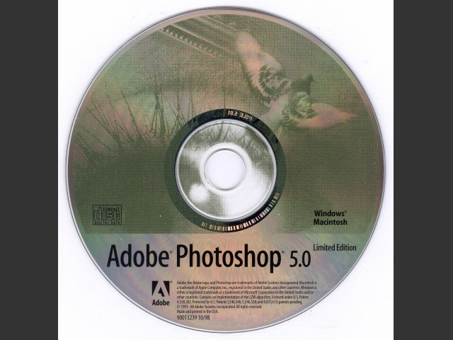 Adobe Photoshop 5.0 LE (Limited Edition) (1999)