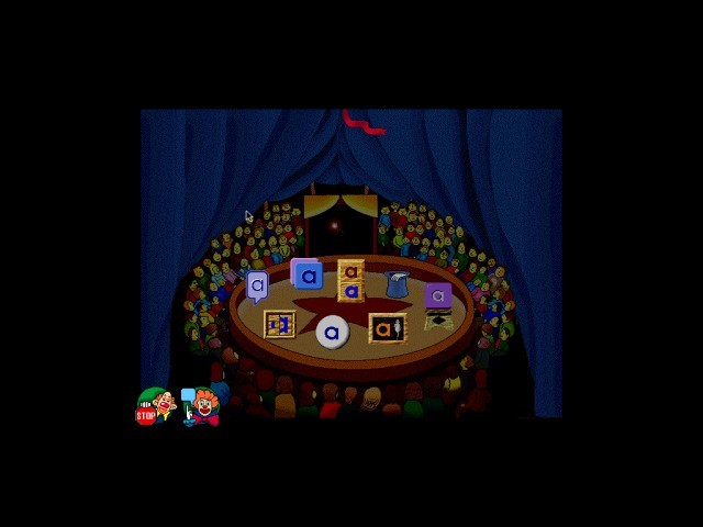 The main menu of the game where the player can choose a mini-game or quit the game