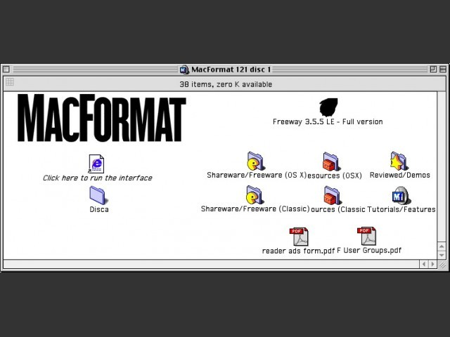 MacFormat CD # 121 (September 2002) (2002)