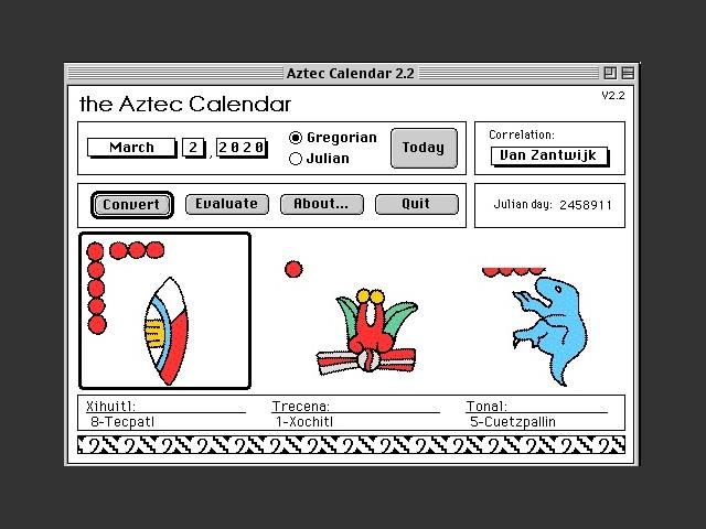 Aztec Calendar (1996)