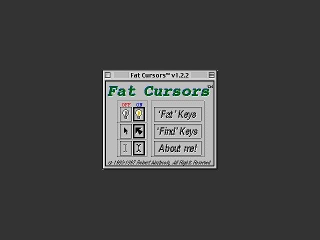 Fat Cursors (1993)