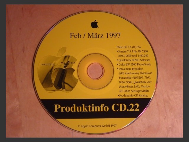 Produktinfo 22 (Germany) (1997)