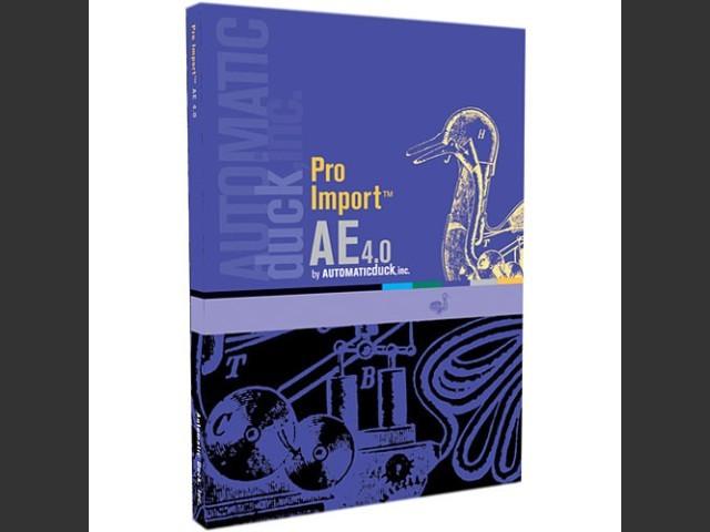 Pro Import AE 5.10 (2011)