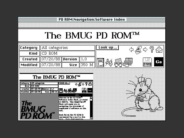 BMUG PD-ROM I (1988) (1988)