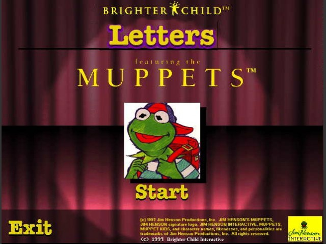 Muppet Reading Software (1995)