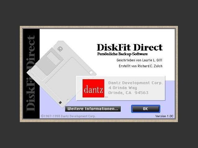 DiskFit Direct - Start