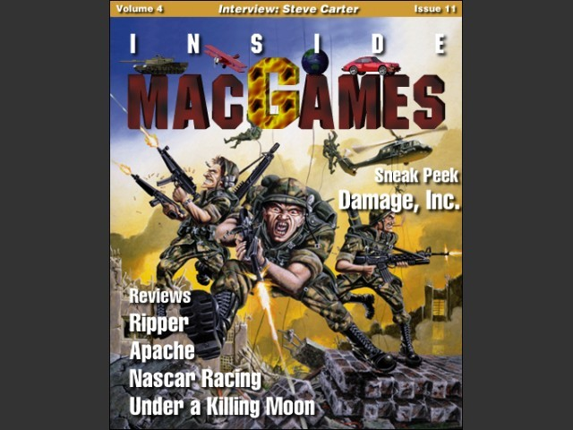 Inside Mac Games Vol 4x11 cover